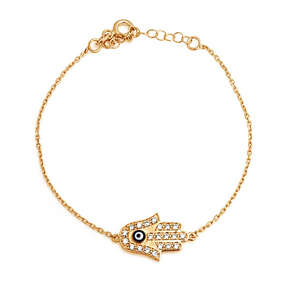 Turkish Delicate Evil Eye Hamsa Hand