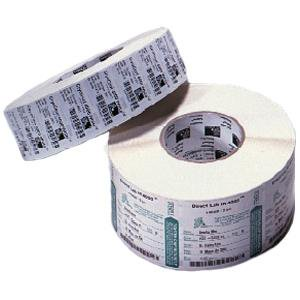 Zebra Label Paper 4 x 6in Direct Thermal Zebra Z-Select 4000D 3 in core - Permanent Adhesive -