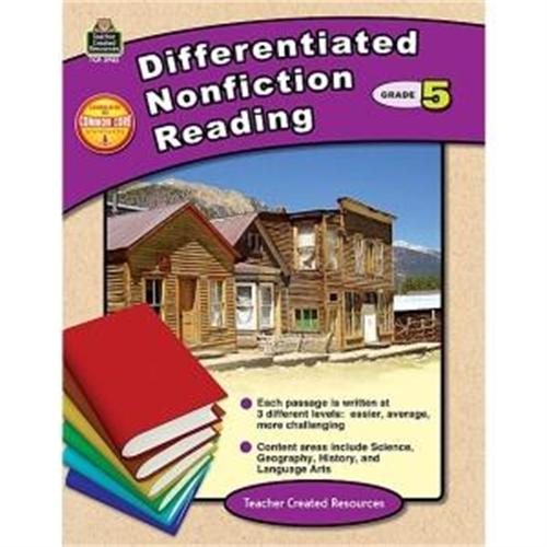 Teacher Created Resources Teacher Created Res. Gr 5 Differentiated Readg Bk -TCR2922