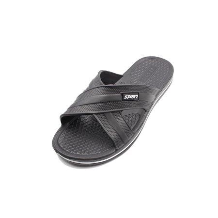 Cammie Men's Criss Cross Slip On Sandals