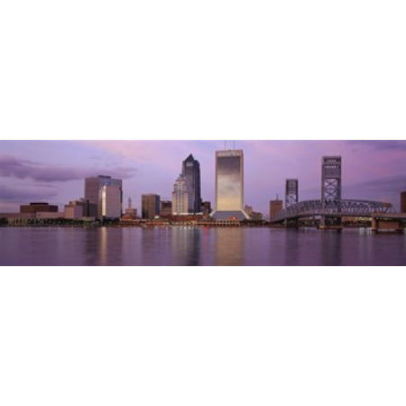 Jacksonville FL Canvas Art - Panoramic Images (18 x 6) ()