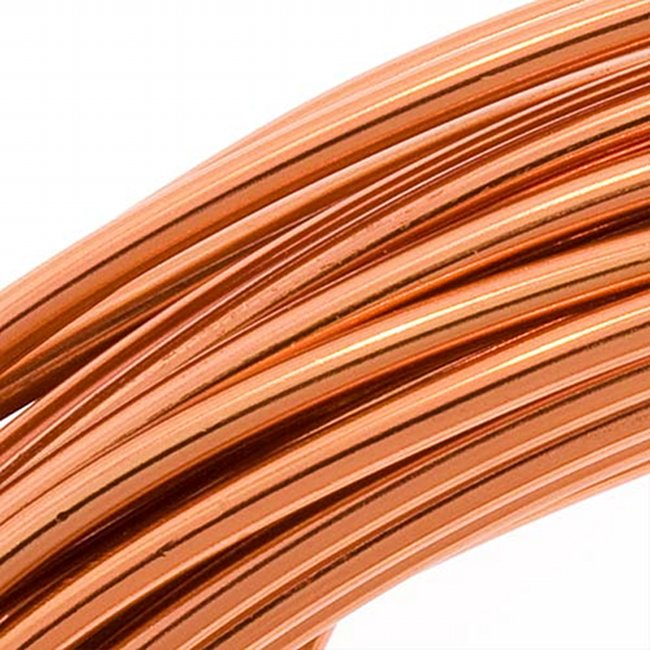 Aluminum Craft Wire Copper Color 12 Gauge 39 Feet (11.8 Meters)