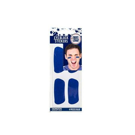 Create Out Loud Blue Eye Black Stickers, 4 Piece