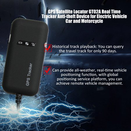 GPS Satellite Locator GT02A Real Time Anti-theft Device for Electric  Vehicle Car and Motorcycle