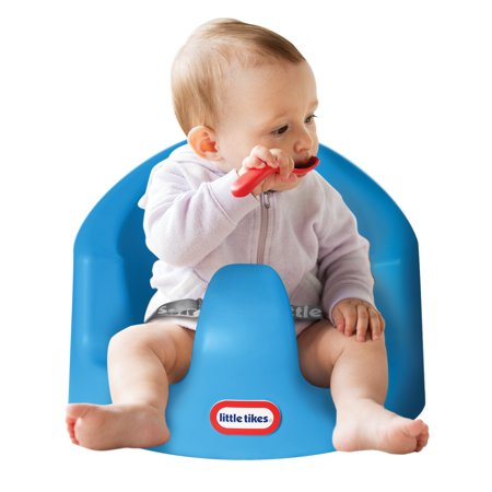 Little Tikes My First Seat, Baby Foam Floor Support Seat, Blue (My Little Travel High Chair)