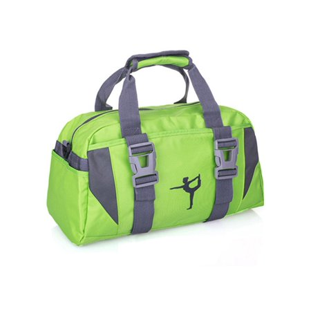 JVOGGY Women Yoga Gym Bag Waterproof Nylon Shoulder Crossbody Sport Travel Dance Duffle