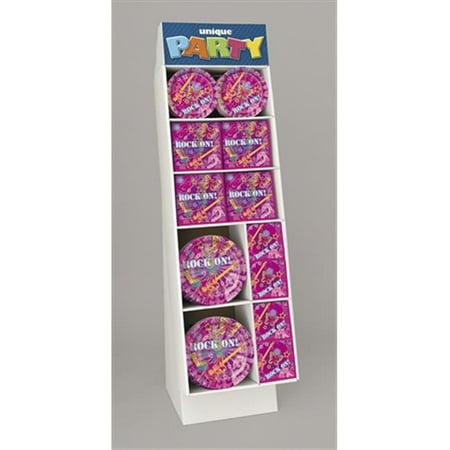 148 Piece Set - Unique Industries 40564 148 Pieces Paperware T Display Set