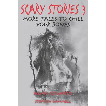 Scary Stories 3: More Tales to Chill Your Bones (Paperback) - A Scary Halloween Story Fill In