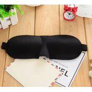 Men Eye - CBD 3D Black Soft Rest Relax Blindfold Contoured Travel Sleep Eye Mask for Men / Woman Sleeping Eyeshade