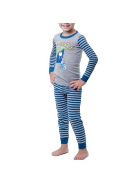 Goodnight Moon Baby toddler boy or girl unisex bunny tight fit pajamas 2pc set