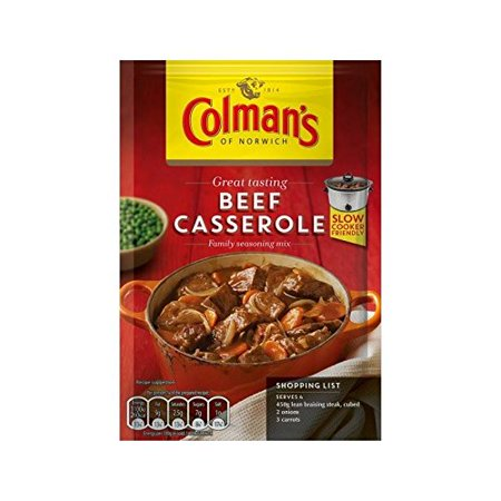 Colman's Beef Casserole Recipe Mix 40g - Pack of