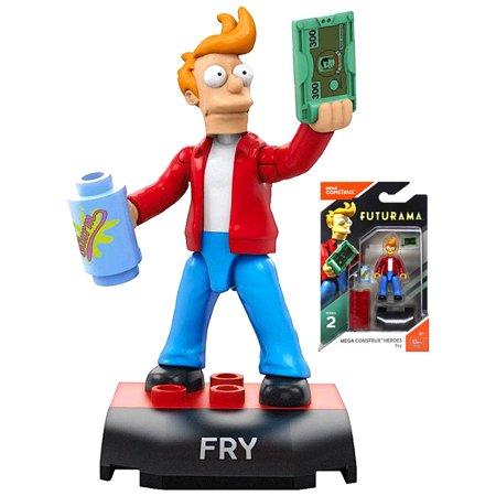 Fry Futurama Mega Construx Figure 13 - Fry From Futurama