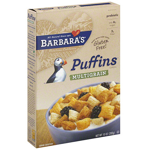 Barbara's Puffins Cereal, 10 oz (Pack of 6)