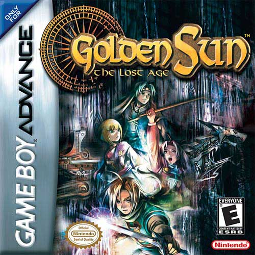 Nintendo Golden Sun: The Lost Age GBA