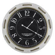 Cooper Classics Hatteras Wall Clock - 32 diam. in.