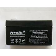 PowerStar AGM1213-05 12V 1. 3Ah Battery for Panasonic Sealed Lead Acid Battery