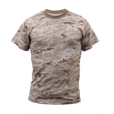 Desert Digital Camo T-shirt - Army Digital Camo T-shirt