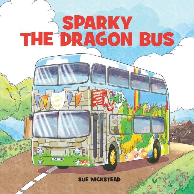 Sparky The Dragon Bus Paperback Walmart Com Walmart Com