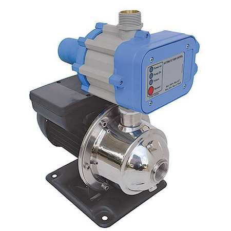 Dayton 4HFA6 Stainless Steel Constant Pressure Booster System, 1/2 HP ()