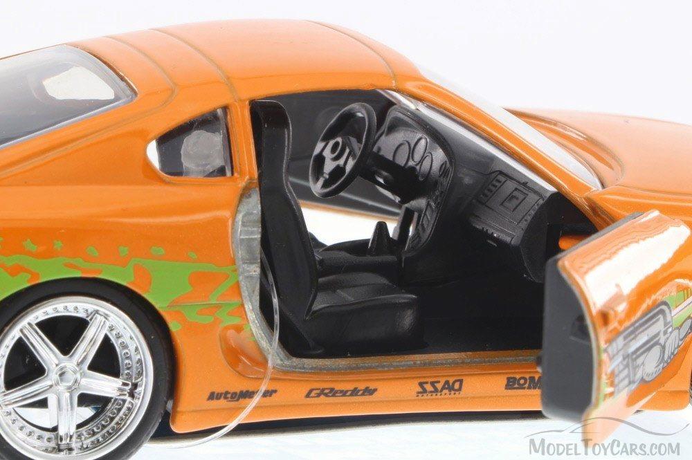 Fast Furious Toyota Supra Orange