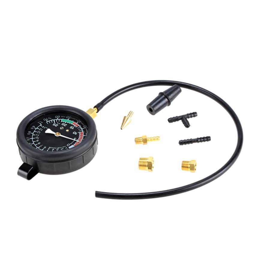 10PSI Fuel Pump Pressure & Vacuum Tester Gauge Test Kit Car & Truck by Unbrand