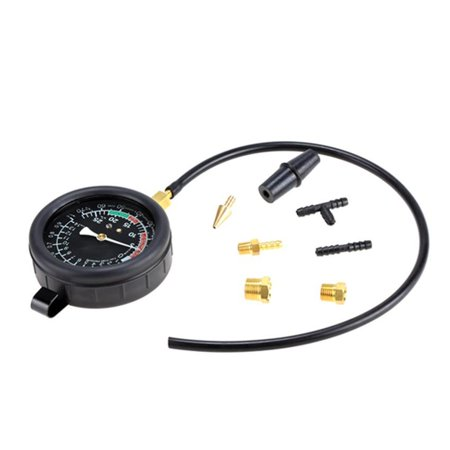 10Psi Fuel Pump Pressure   Vacuum Tester Gauge Test Kit Car   Truck
