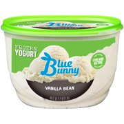 Blue Bunny Vanilla Bean Frozen Yogurt 48 Fl Oz