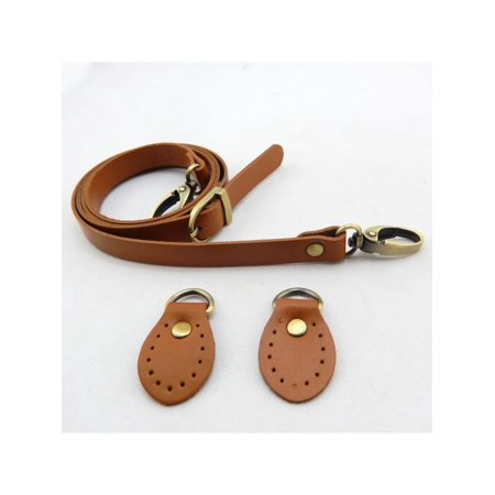 aeb9ea35d3 Meigar DIY Genuine Leather Replacement Shoulder Strap Adjustable For Shoulder  Crossbody Bag - Walmart.com