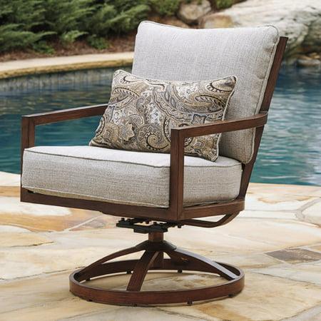 Bayou Breeze Geneseo Swivel Lounge Chair  Set Of 2