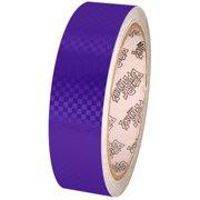 Tape Planet Purple Carbon Fiber 1 inch x 10  yards Metalized PVC Tape