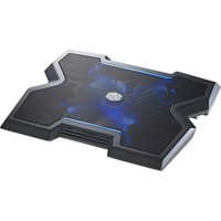Cooler Master NotePal X3 Gaming Laptop Cooling Pad 200mm Blue LED Fan Open Box