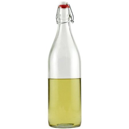 Bormioli Rocco Giara Clear Glass Bottle With Stopper, 33 3/4 oz.](Glass Bottles With Stoppers)