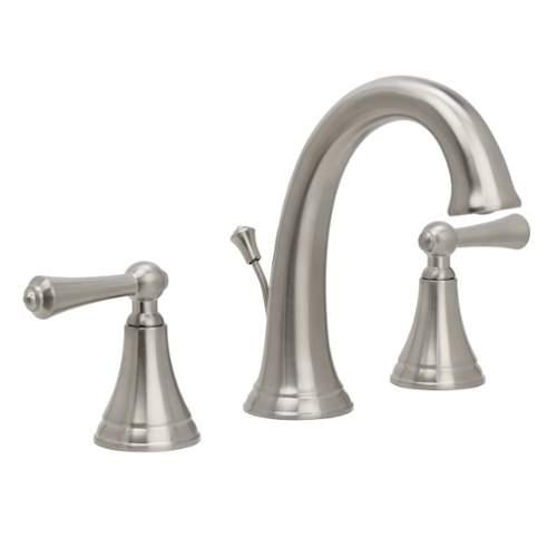 Miseno  ML671  Lavatory  Carlentini  Faucet  Double Handle  ;Brushed Nickel