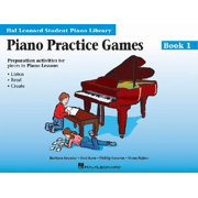 Piano Practice Games Book 1 : Hal Leonard Student Piano Library