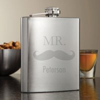 Personalized Mr. Flask