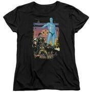 Watchmen Winning The War Womens Short Sleeve Shirt