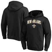 New Orleans Saints NFL Pro Line by Fanatics Branded Iconic Engage Arch Pullover Hoodie - Black
