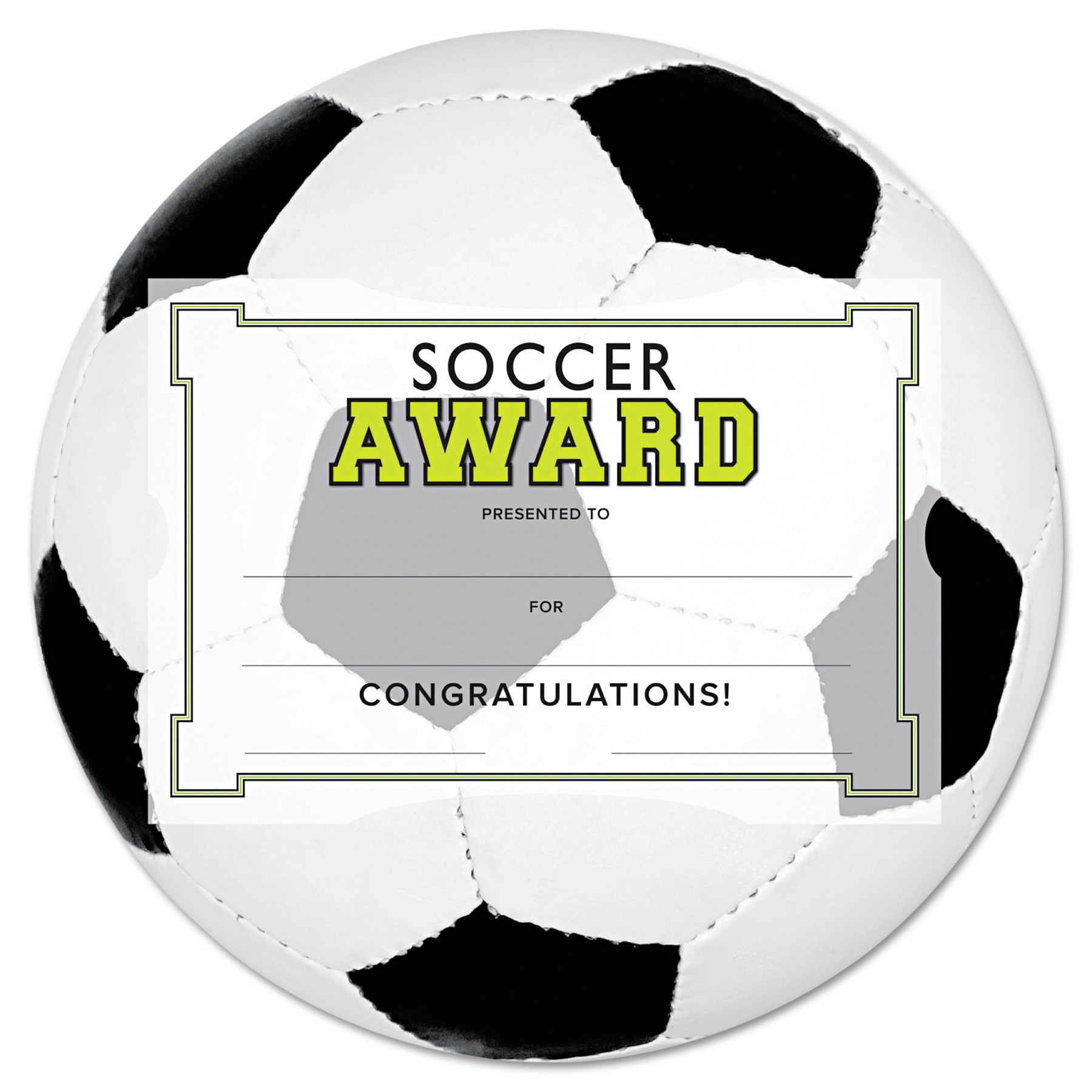 Southworth motivations soccer sports certificate award kit and southworth motivations soccer sports certificate award kit and holder 85 x 55 10pk walmart alramifo Gallery