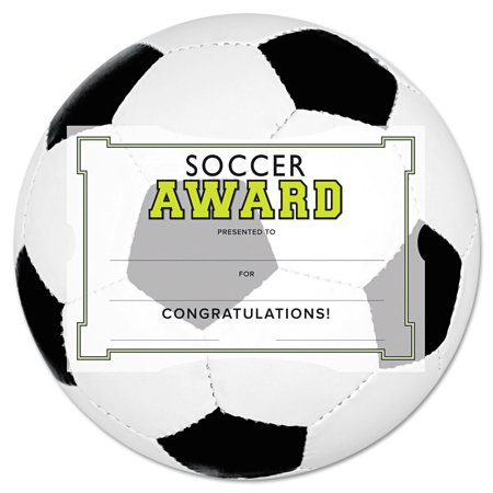 Southworth motivations soccer sports certificate award kit for Soccer award certificate templates free