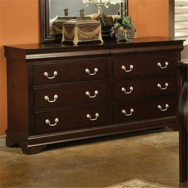 Coaster 203983n Louis Philippe Louis Philippe Style 6 Drawer Dresser