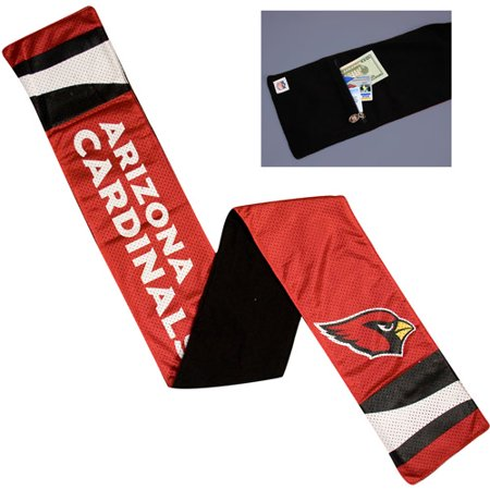 1fea1fc29c63 NFL - Women s Arizona Cardinals Jersey Scarf - Walmart.com