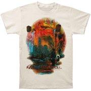 Three Days Grace Men's  Look Back 2012 Tour T-shirt Off-white