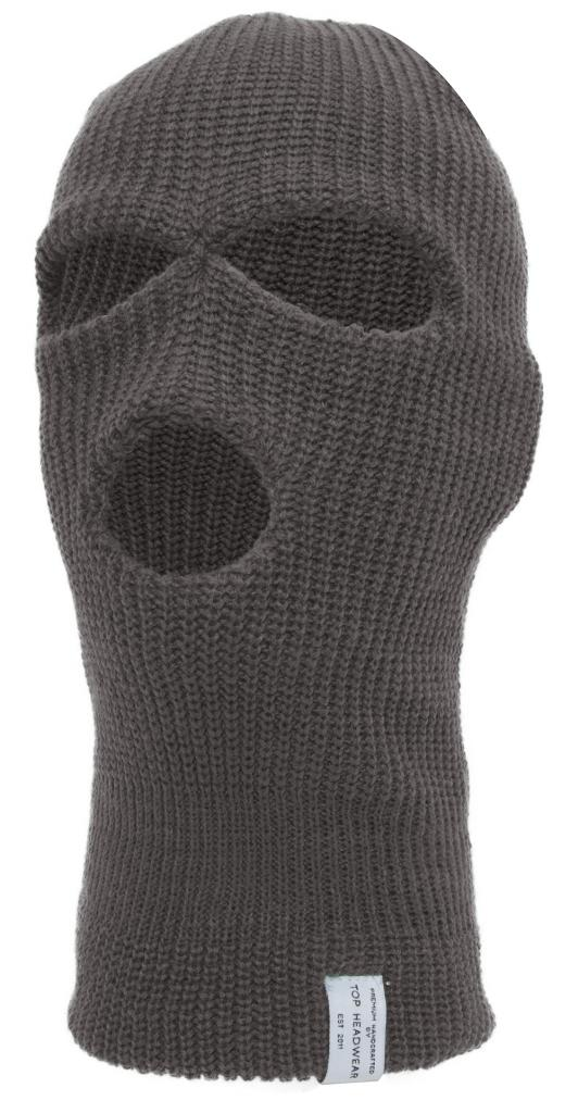 TopHeadwear 3-Hole Winter Ski Mask by