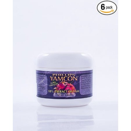 Yamcon Natural Bioidentical Progesterone Cream Extra Strength 6