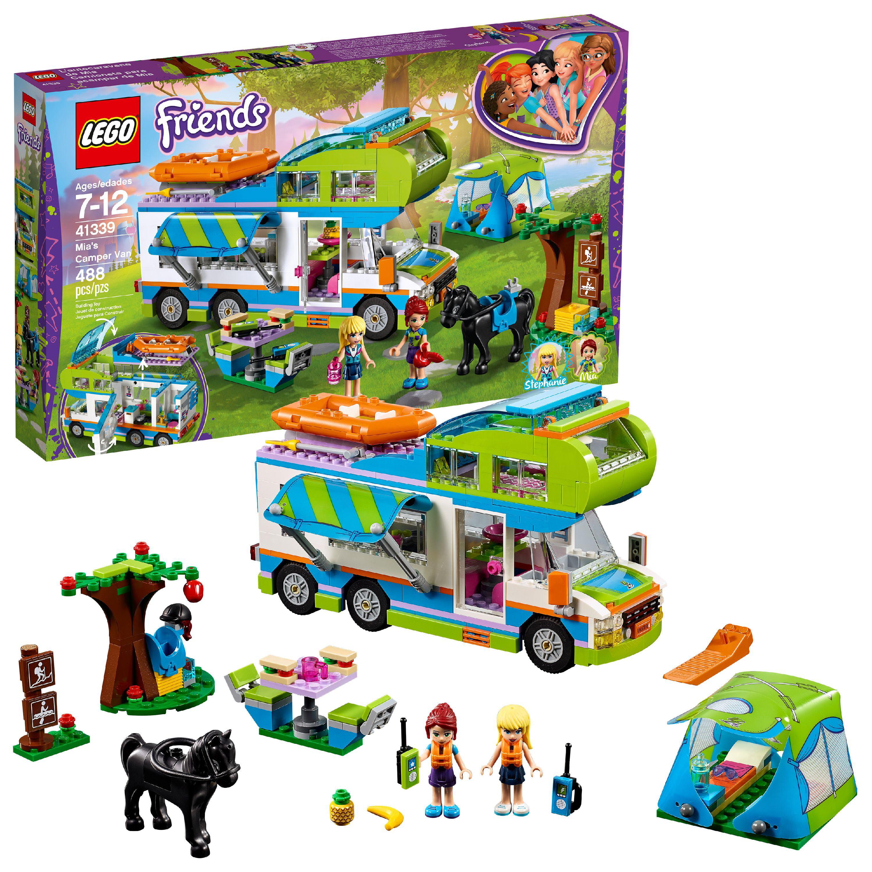 LEGO Friends Mia's Camper Van41339Building Set (488 Pieces)