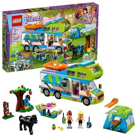 LEGO Friends Mia's Camper Van 41339 Building Set (488 Pieces)](Lego Animal Sets)