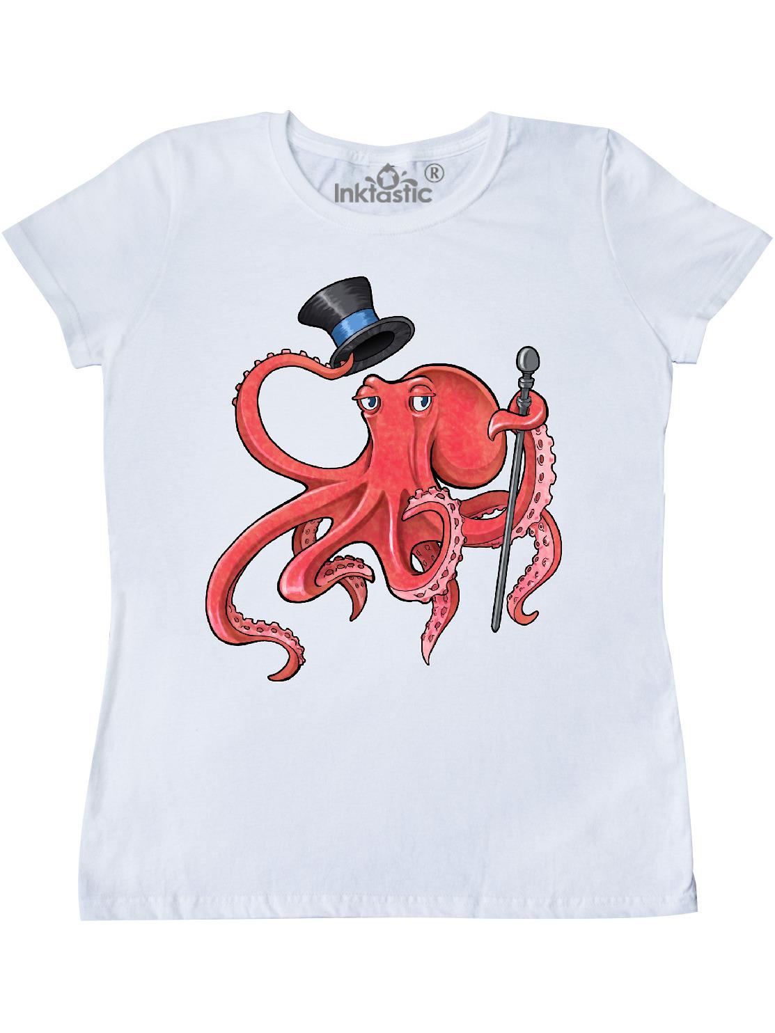 Pacific Ocean Giant Pacific Octopus Steampunk Vintage Women/'sMen/'s TShirt