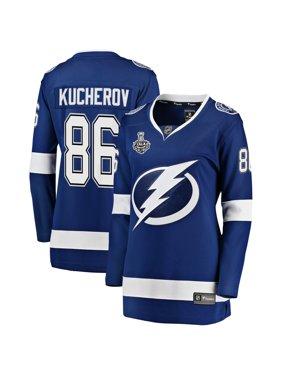 Nikita Kucherov Tampa Bay Lightning Fanatics Branded Women's 2020 Stanley Cup Final Bound Home Player Breakaway Jersey -