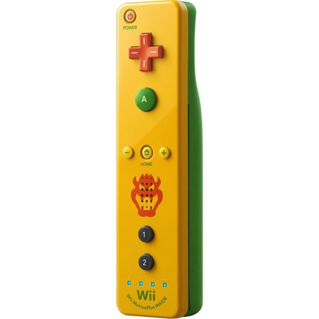 Nintendo Wii Remote Plus Controller - Bowser (Yellow/ Green)
