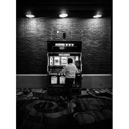 LAMINATED POSTER Slot Machine Vegas Slots Gamble Luck Win Gambling Poster Print 24 x (Best Way To Gamble On Slot Machines)